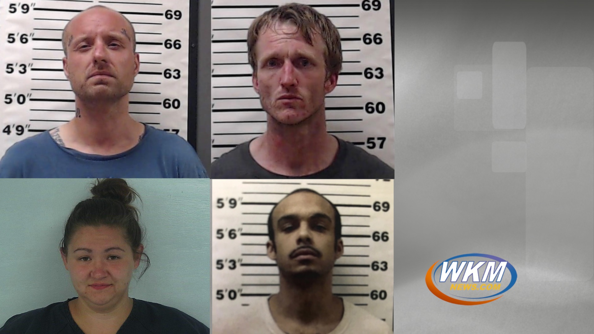 Former Corrections Officer and Three Inmates Arrested in Jail Battery Case