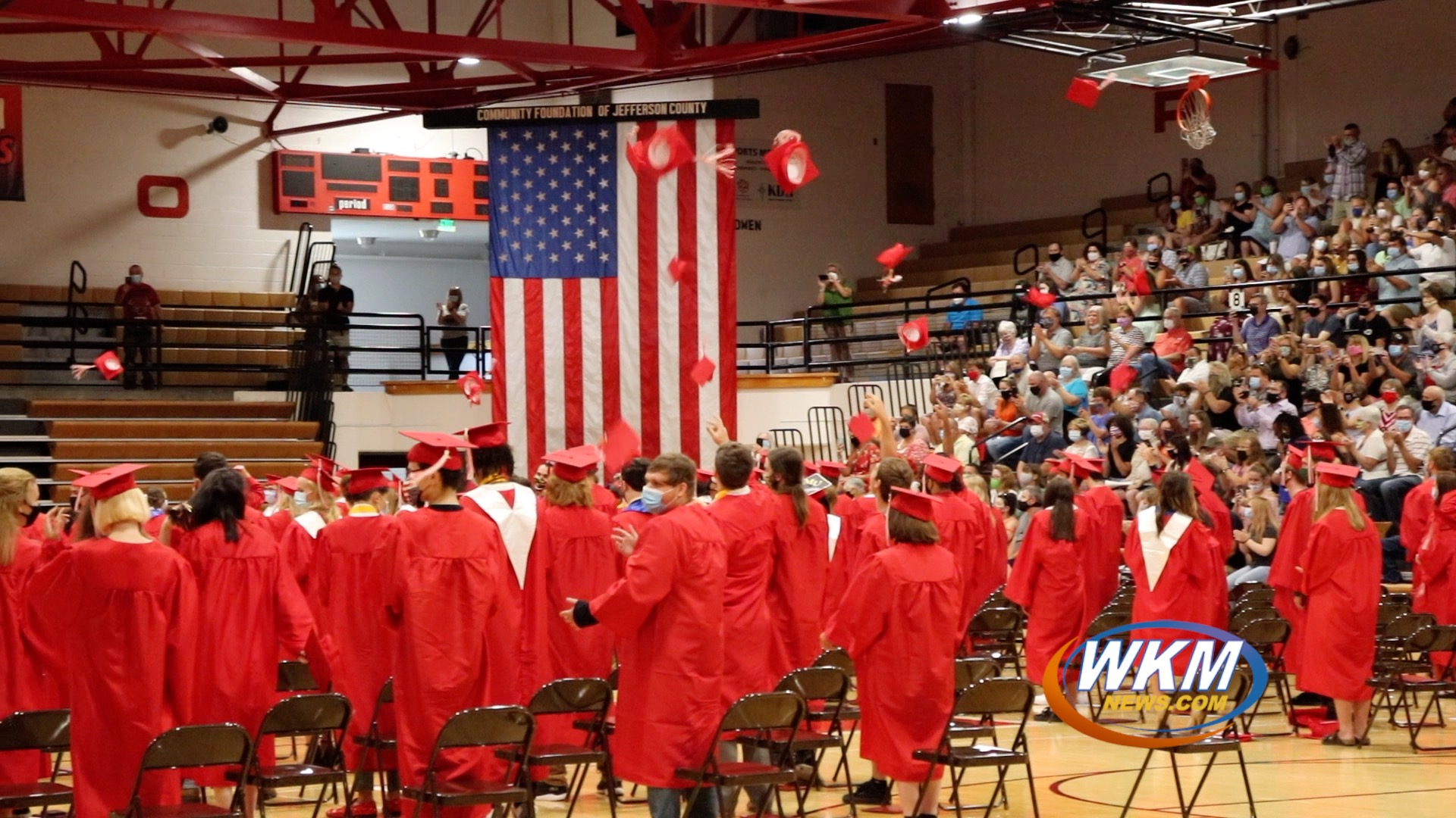 MCHS Seniors Finally Cross the Stage with Graduation Ceremony