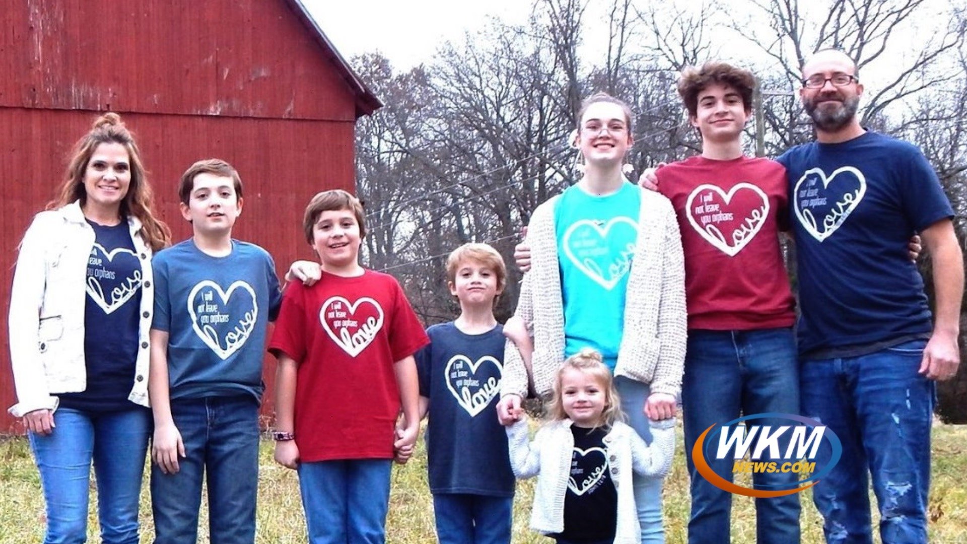 Local Family's Journey to Adoption with Both Hands Service Project
