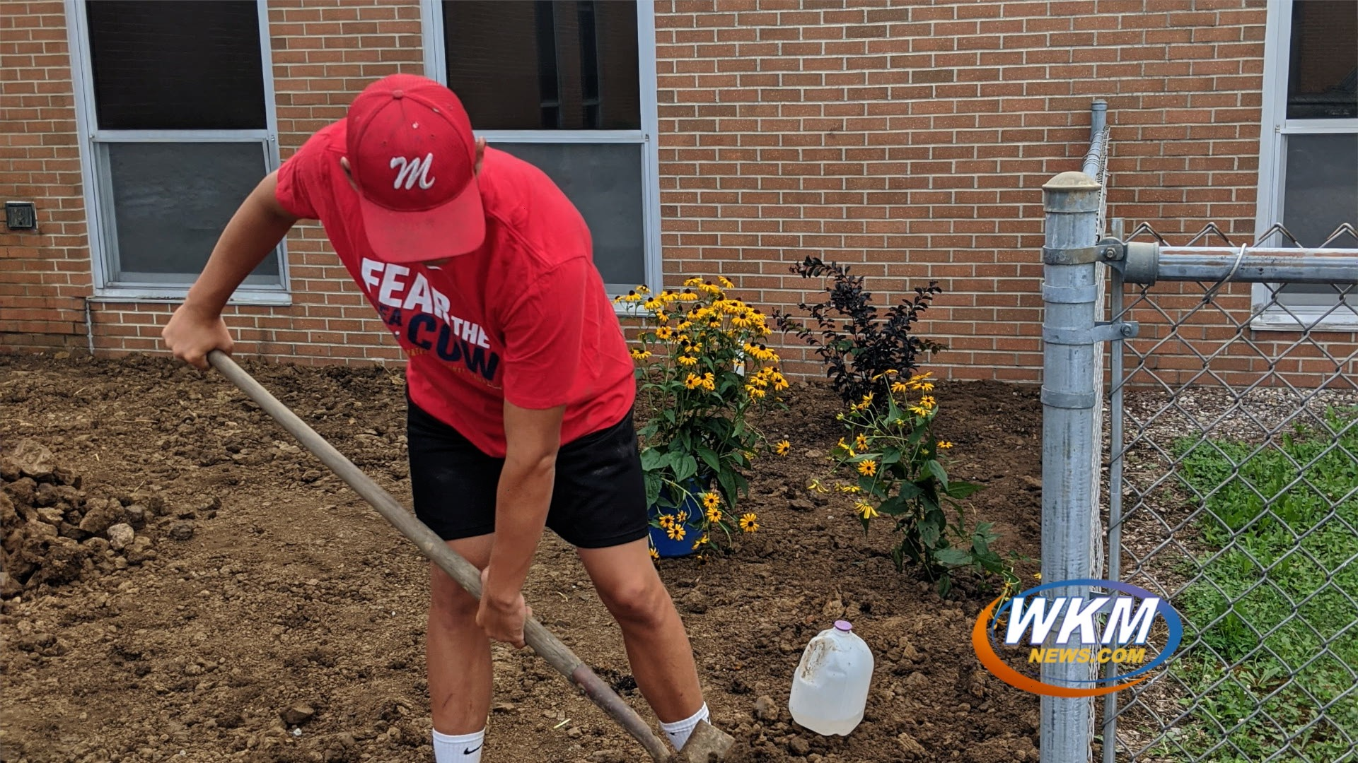 Eagle Scout Brings Sensory Garden to Madison Junior High School