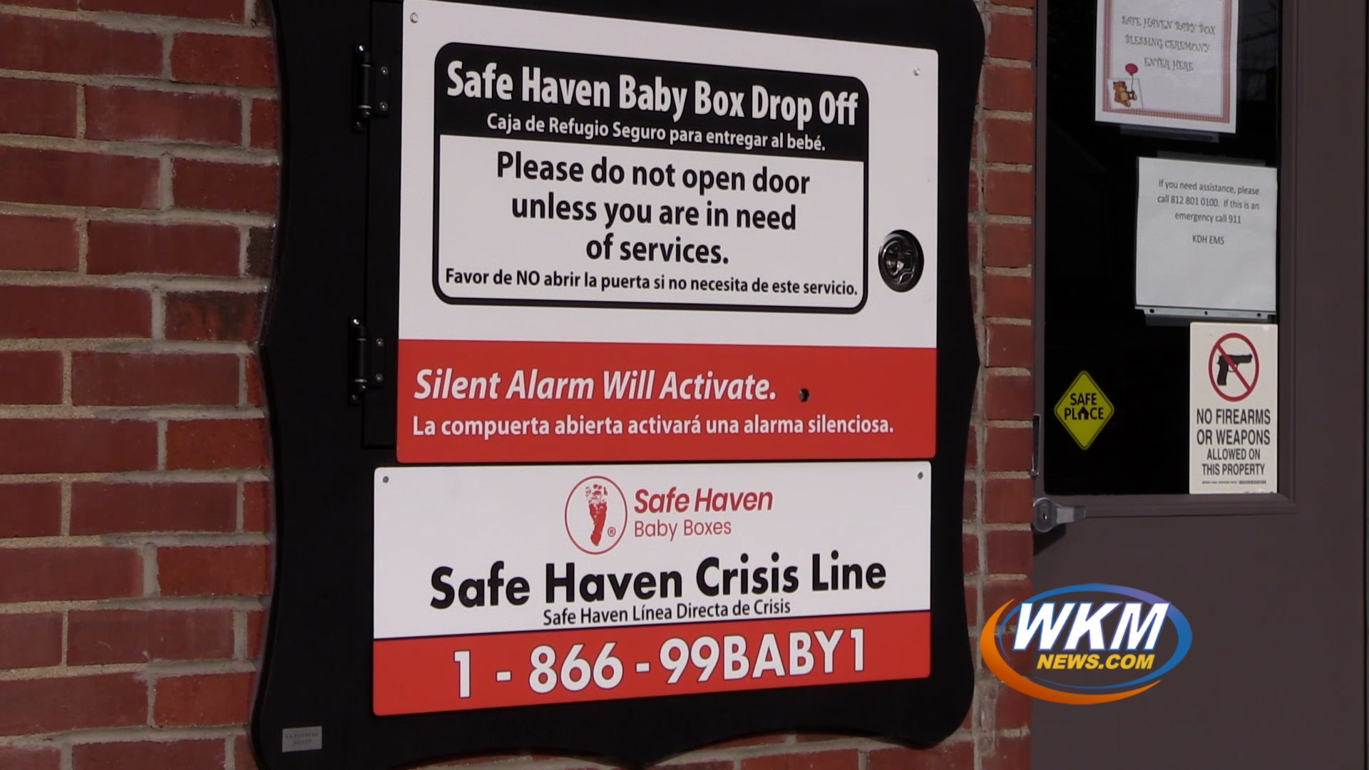 The Safe Haven Baby Box is Now Live in Downtown Madison!