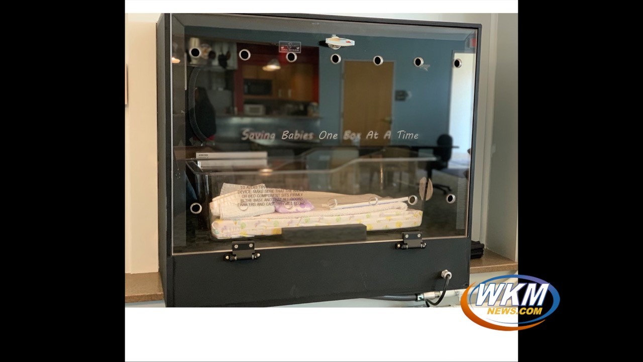 A Safe Haven Baby Box is Now Located in Downtown Madison