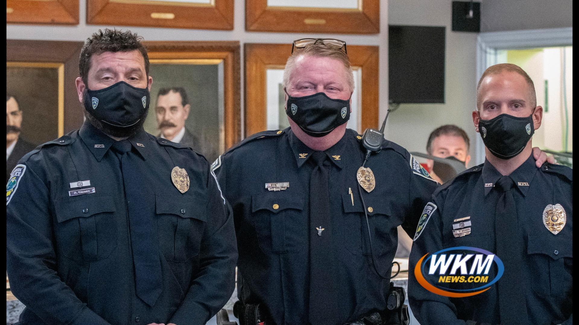 MPD Awards Life-Saving Officers