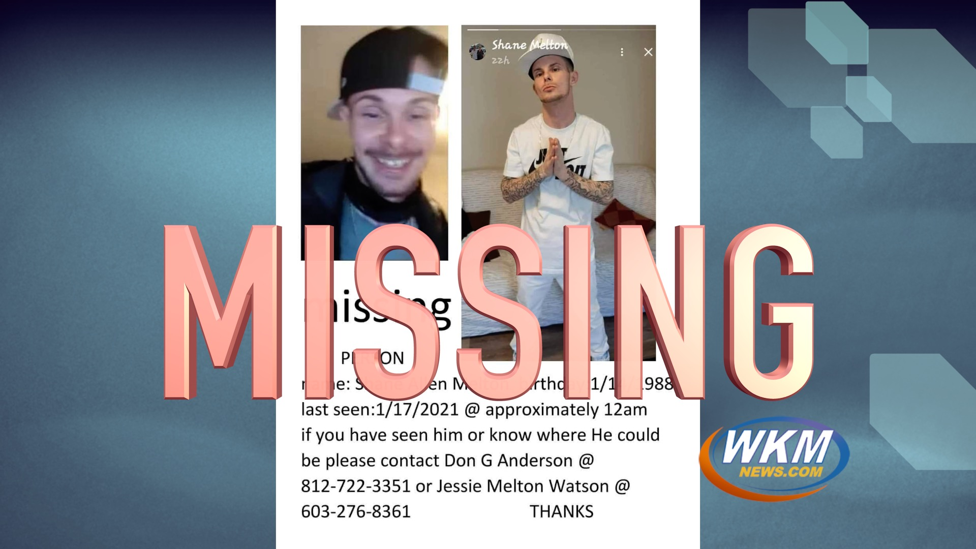 The Search Begins for Missing Person