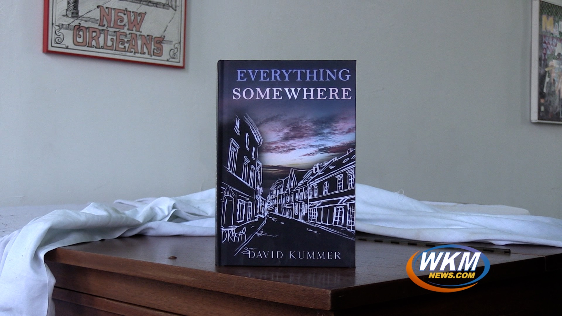 Young Local Author Writes Madison-Themed Novel