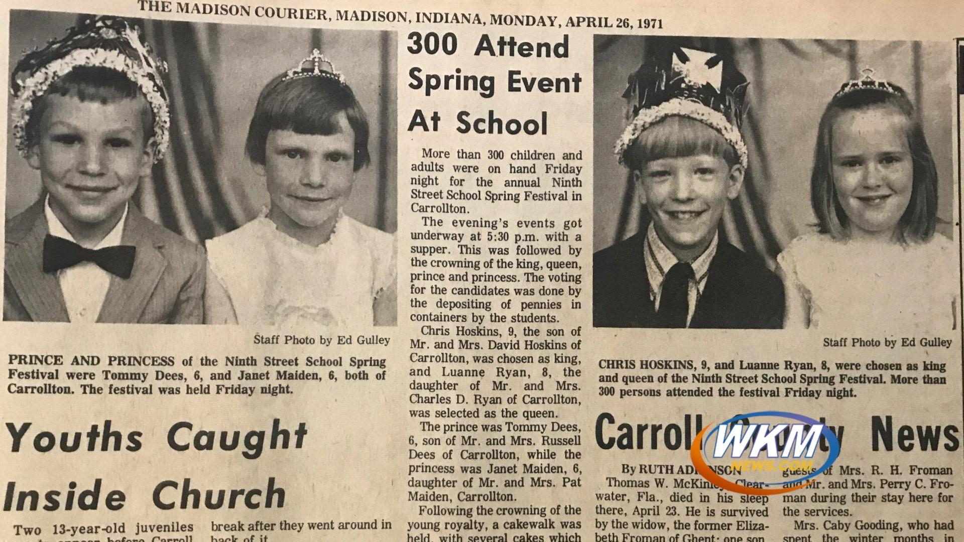 Back in Time: Carrollton Kentucky Royalty