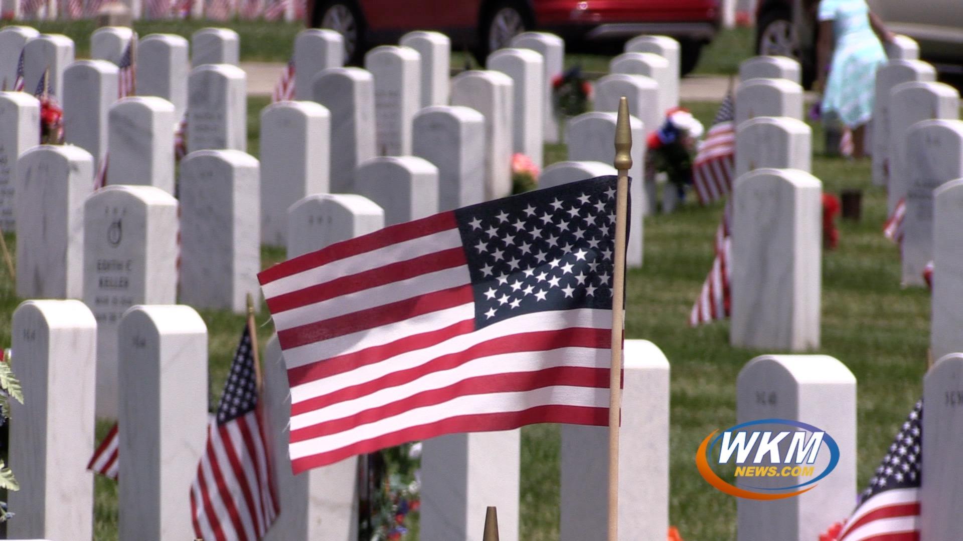 Memorial Day at Indiana Veterans Memorial Cemetery