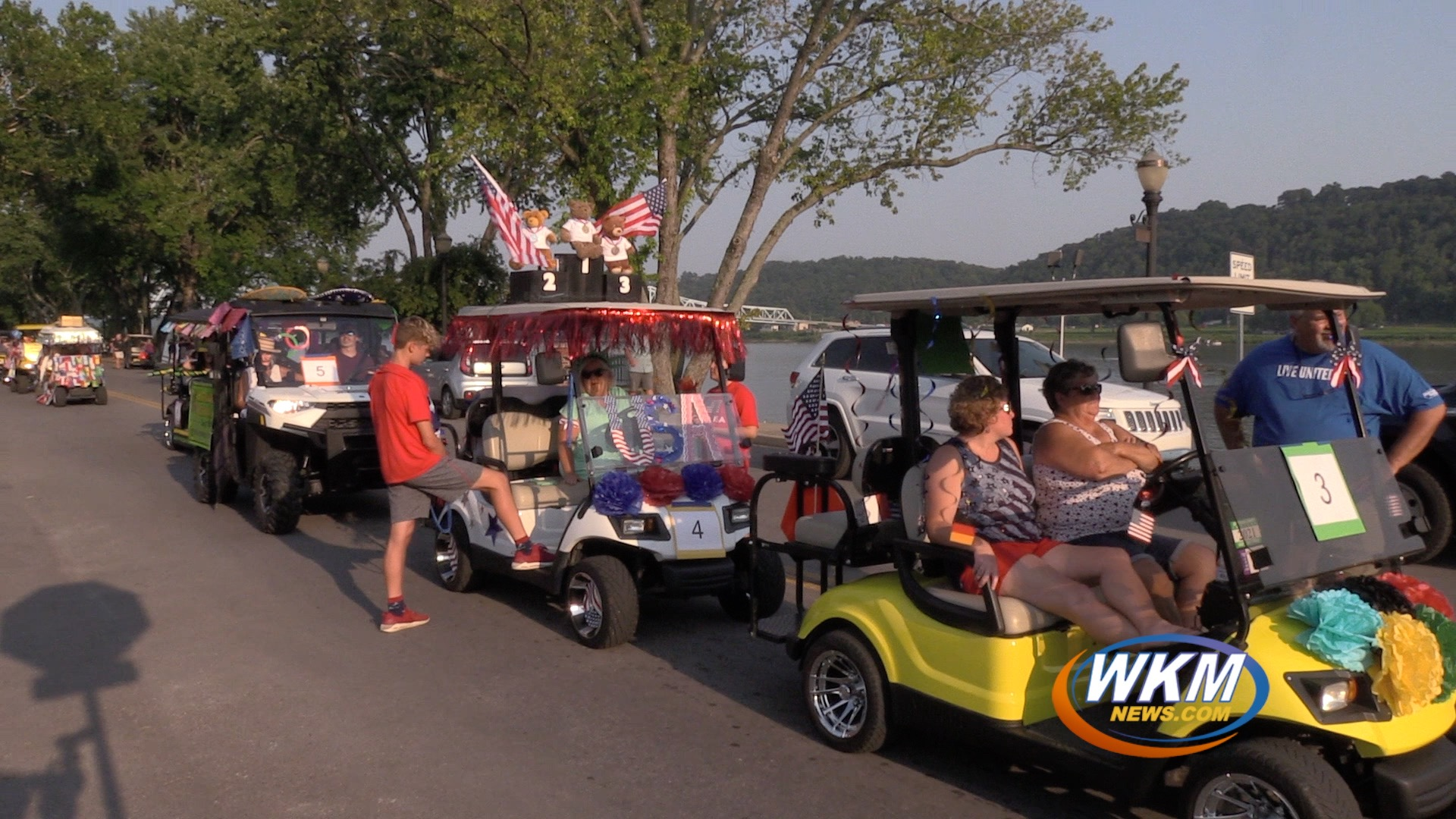 United Way's Golf Cart Olympic Games