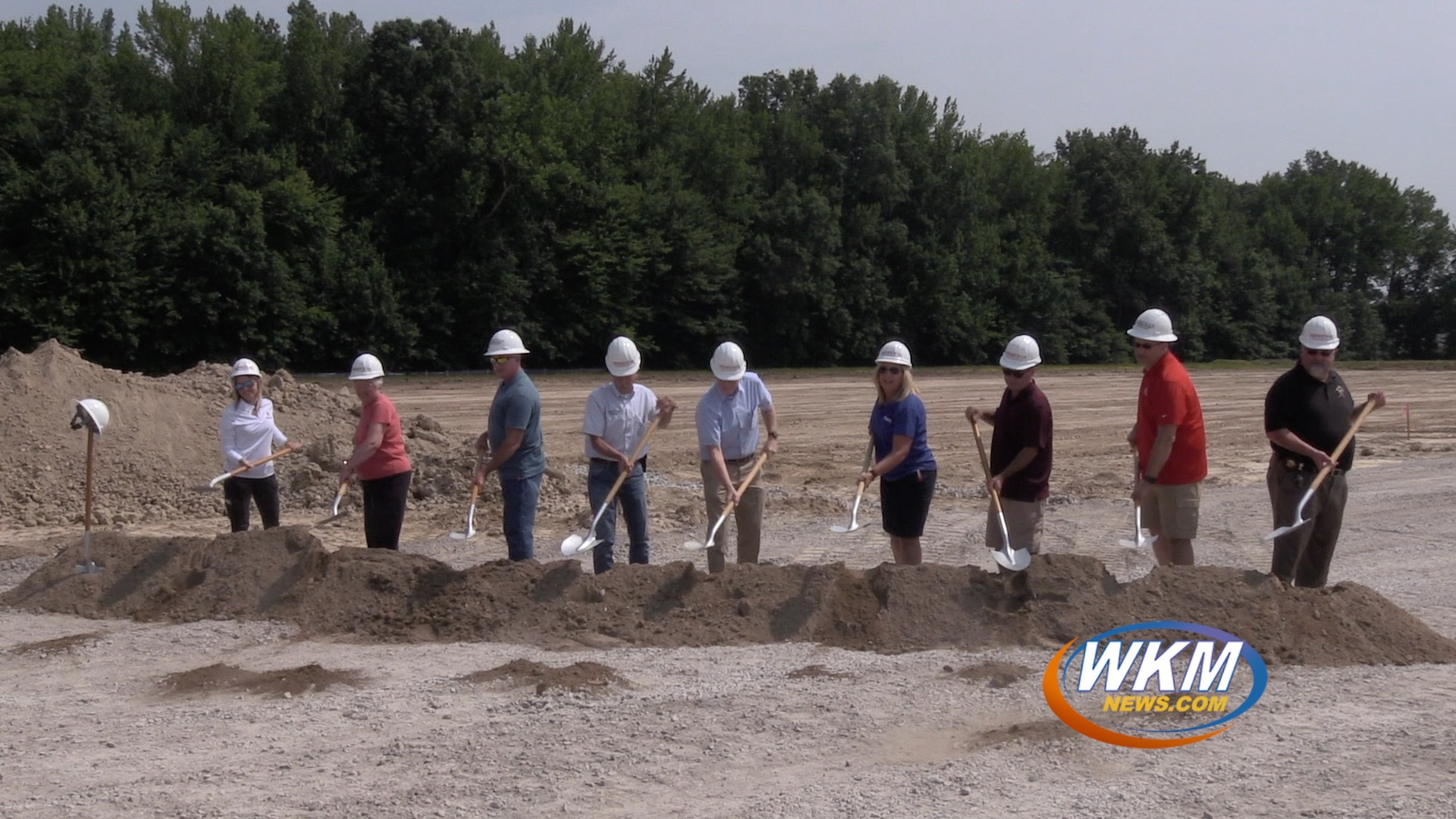 Construction to Begin for New Jail After Ground Breaking Ceremony