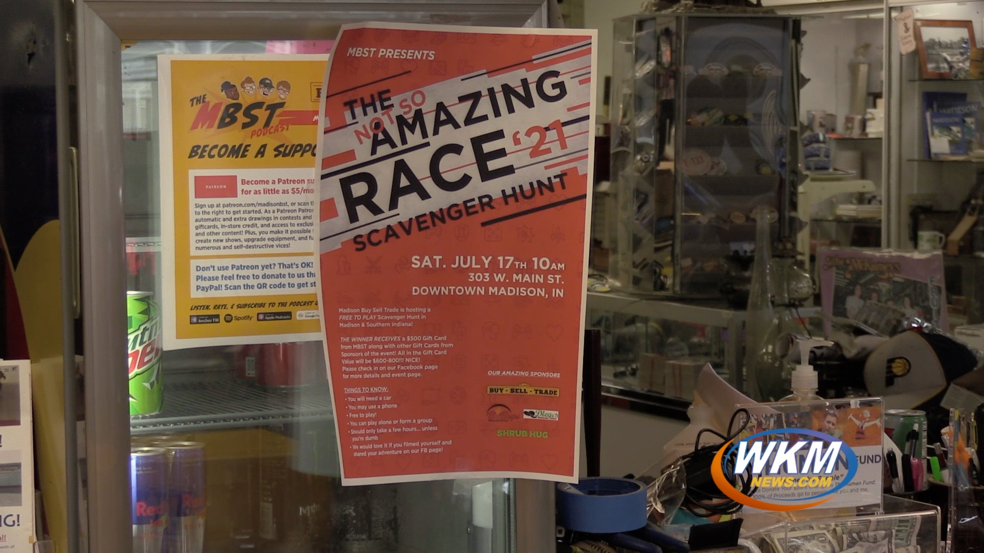 Local Business Hosts a Not-So-Amazing Race