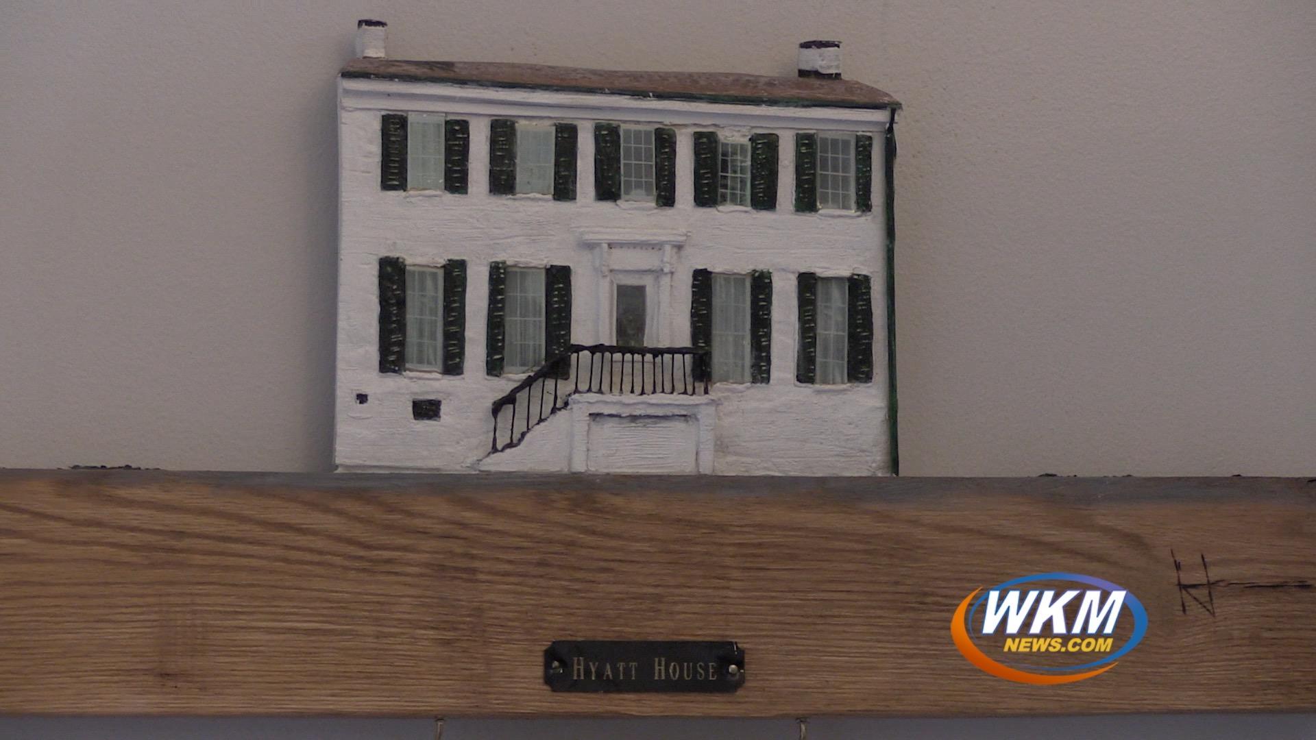Local Artist Creates Unique 3D Historical Building Plaques