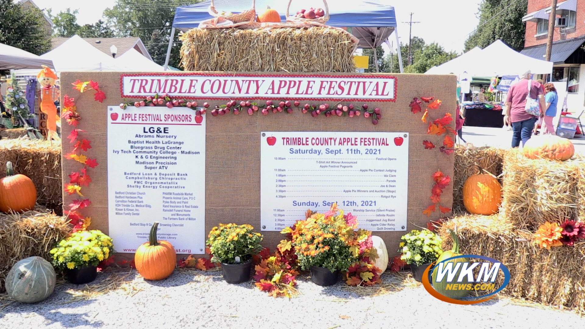 Last Weekend's Fall Festival Extravaganza