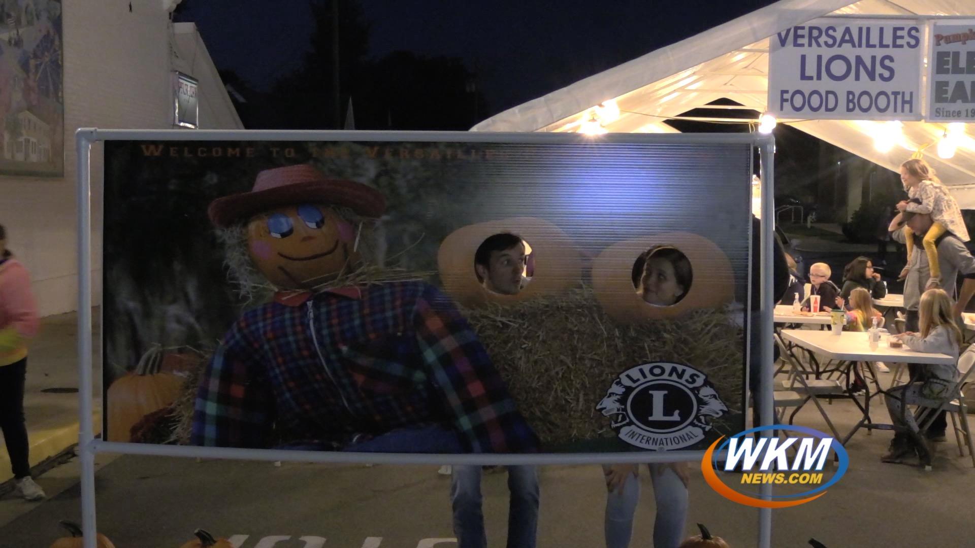 Versailles Pumpkin Show Rings in the Fall Season
