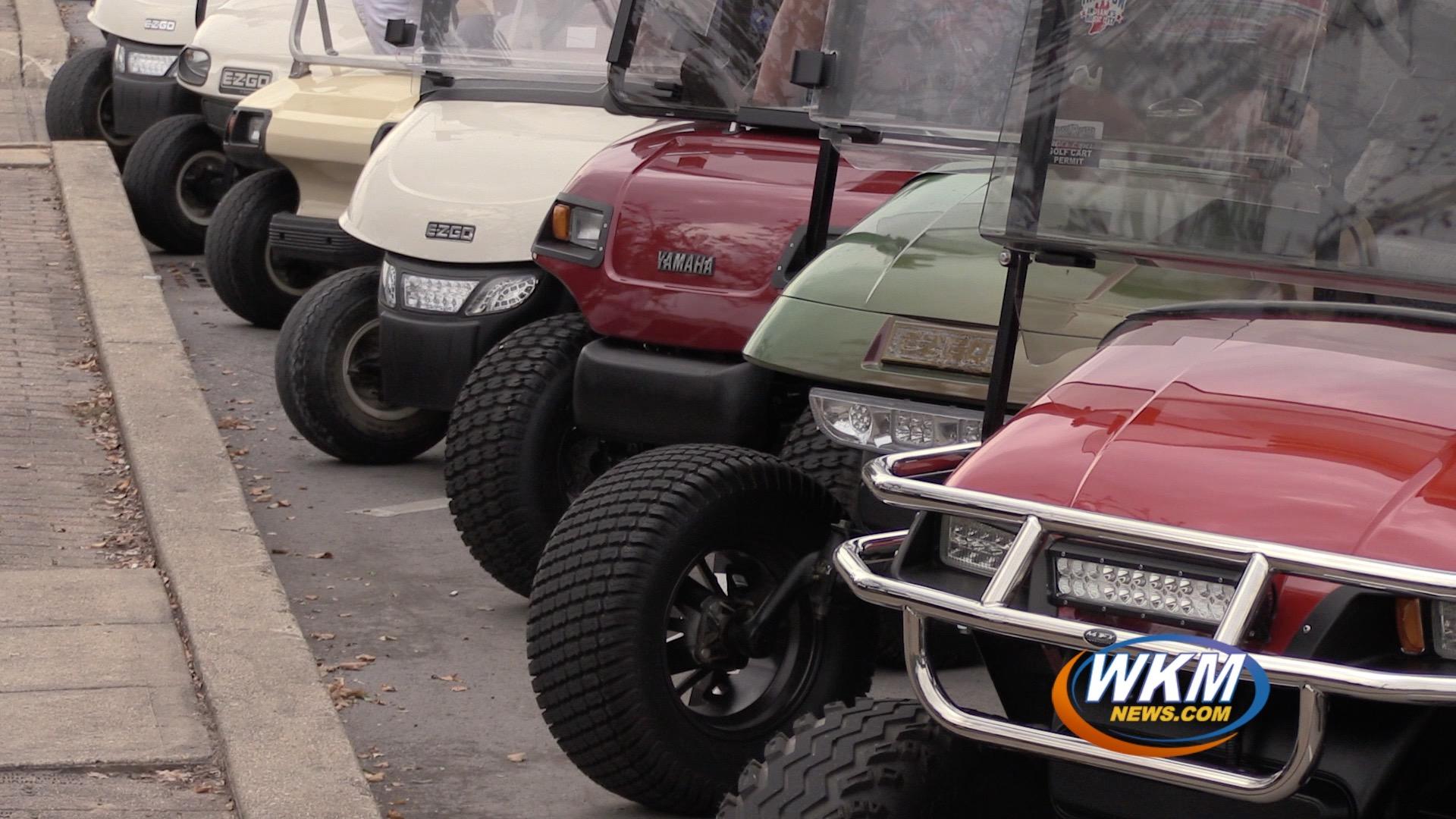 Annual Golf Cart Poker Run Raises Funds for Riverfront Development
