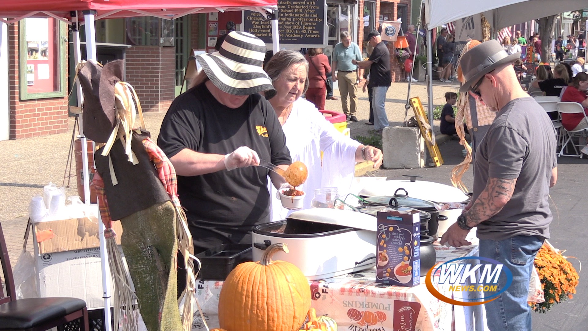 Main Street Boiled Over With Visitors for Annual Soup, Stew, Chili & Brew Festival