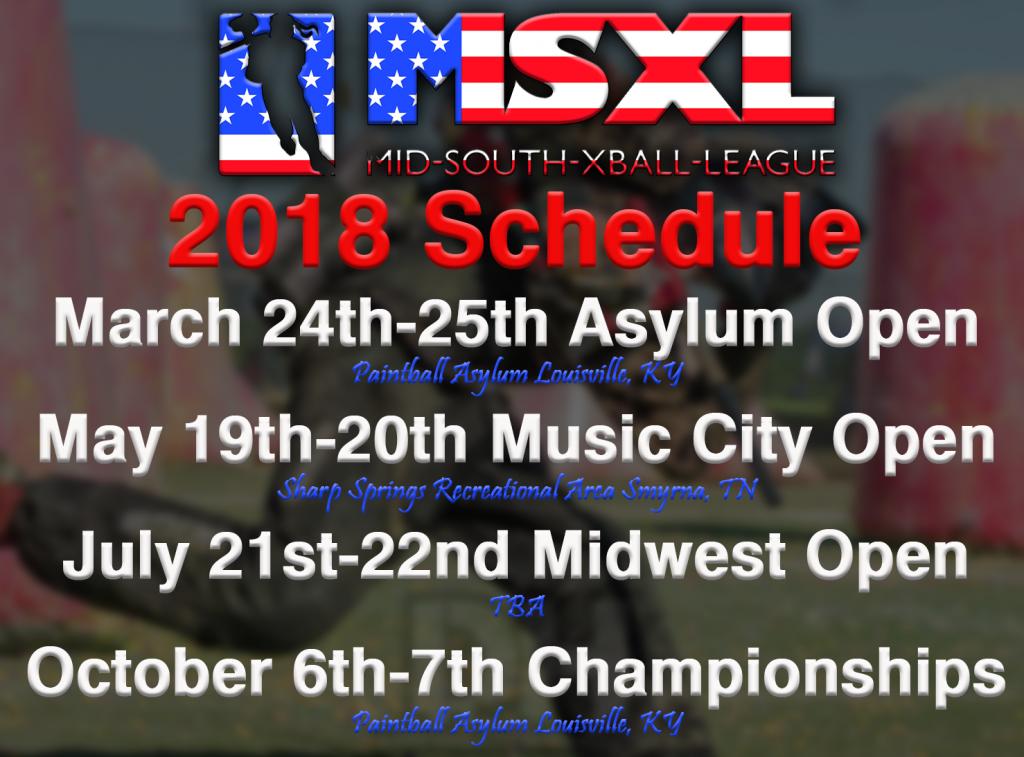 2018 MSXL Season