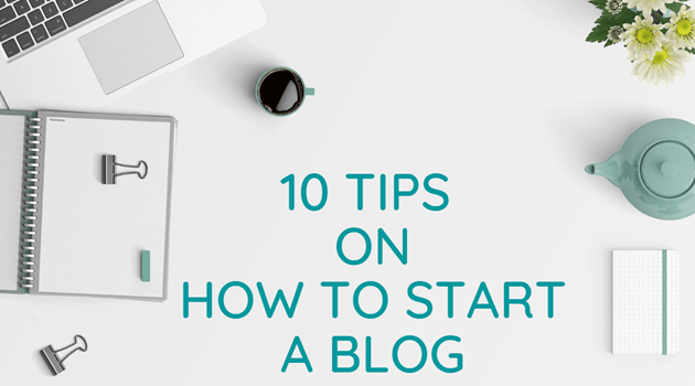 tips to start a blog