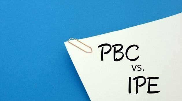 Difference between PBC and IPE_c