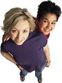 Lesbian women