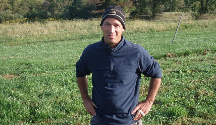 NJ Organic Farmer Mike Rassweiler