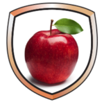 Lunch Shield Icon