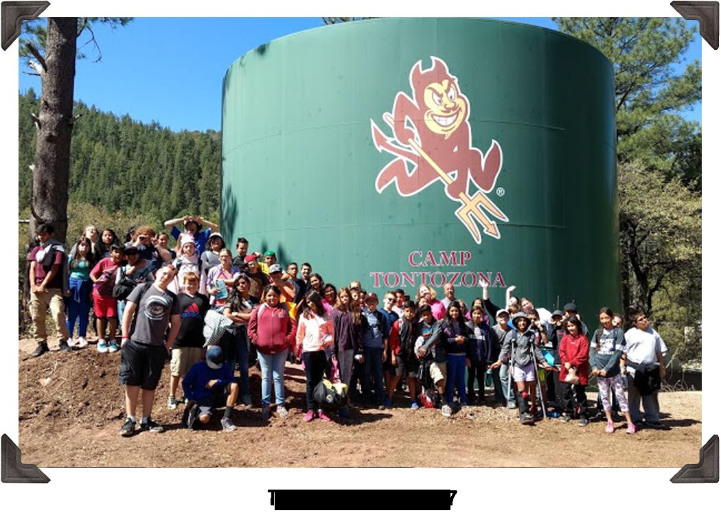 Tonto Creek Camp 2017