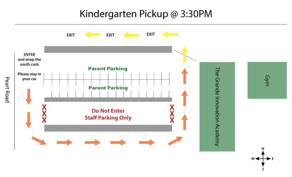 Kindergarten Pick-up Map 330