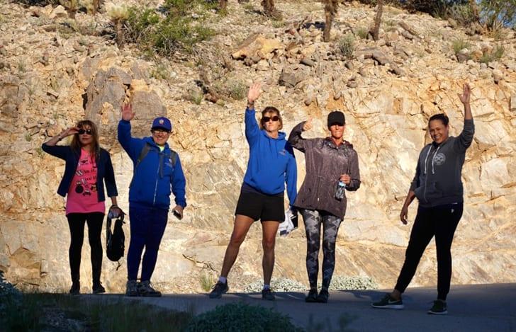 Teachers Before the Hike