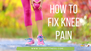 Dealing with runners knee