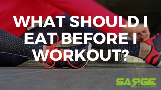 What should I eat before I workout?