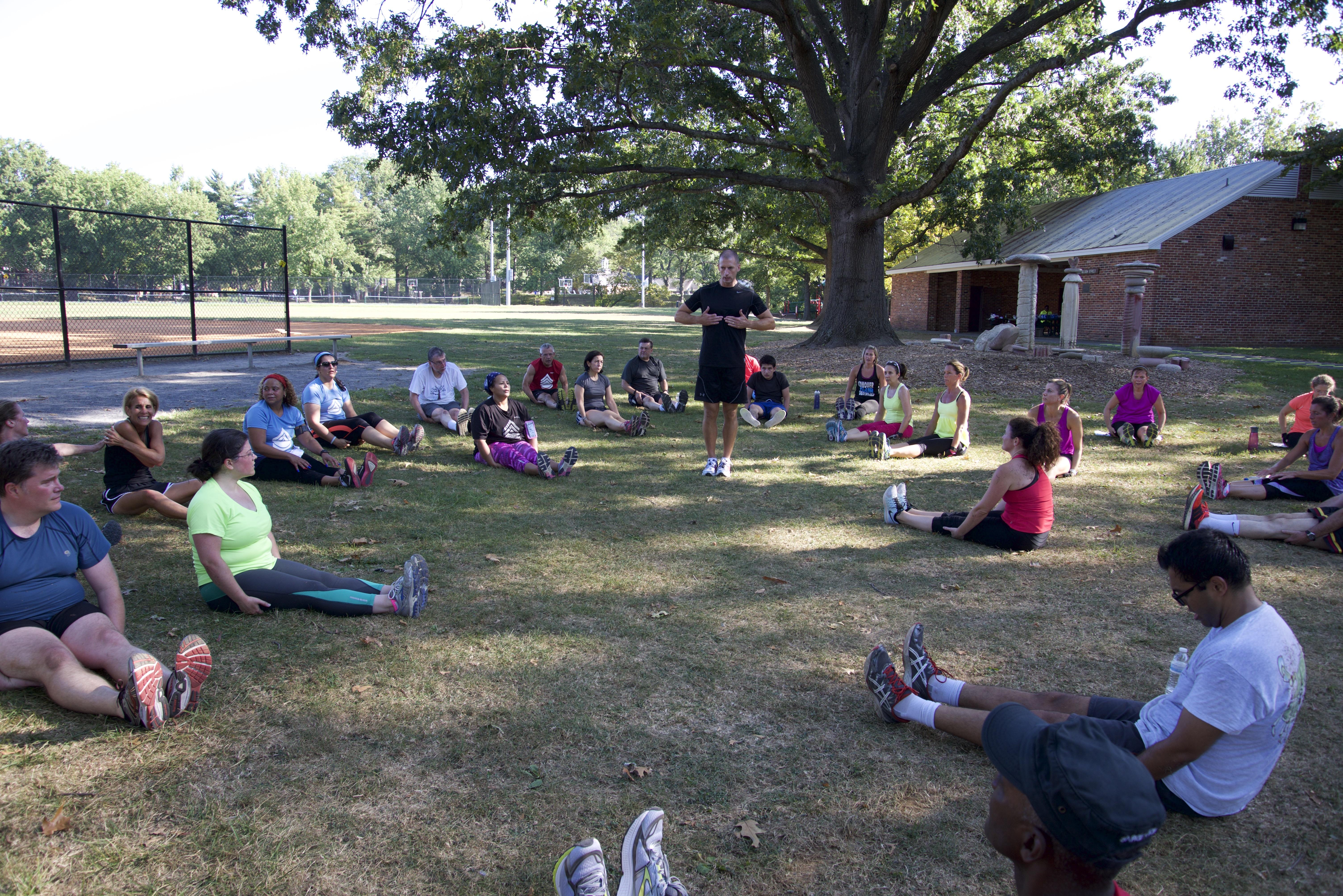 Sarge Fitness Boot Camp Woodley Park Rockville Maryland