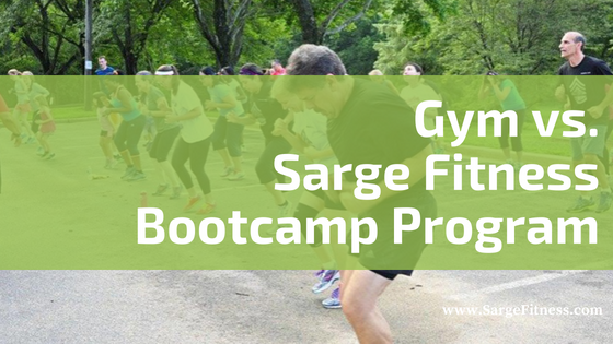 Gym vs. Sarge Fitness' Boot Camp Program