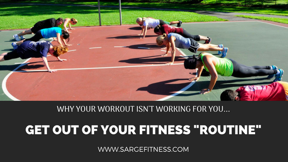 Why your workout isn't working for you