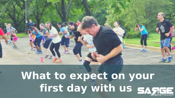 What To Expect on Your First Day with Sarge Fitness Boot Camp
