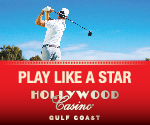 Hollywood Casino Golf Ad