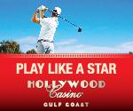 Hollywood Casino Golf Ad