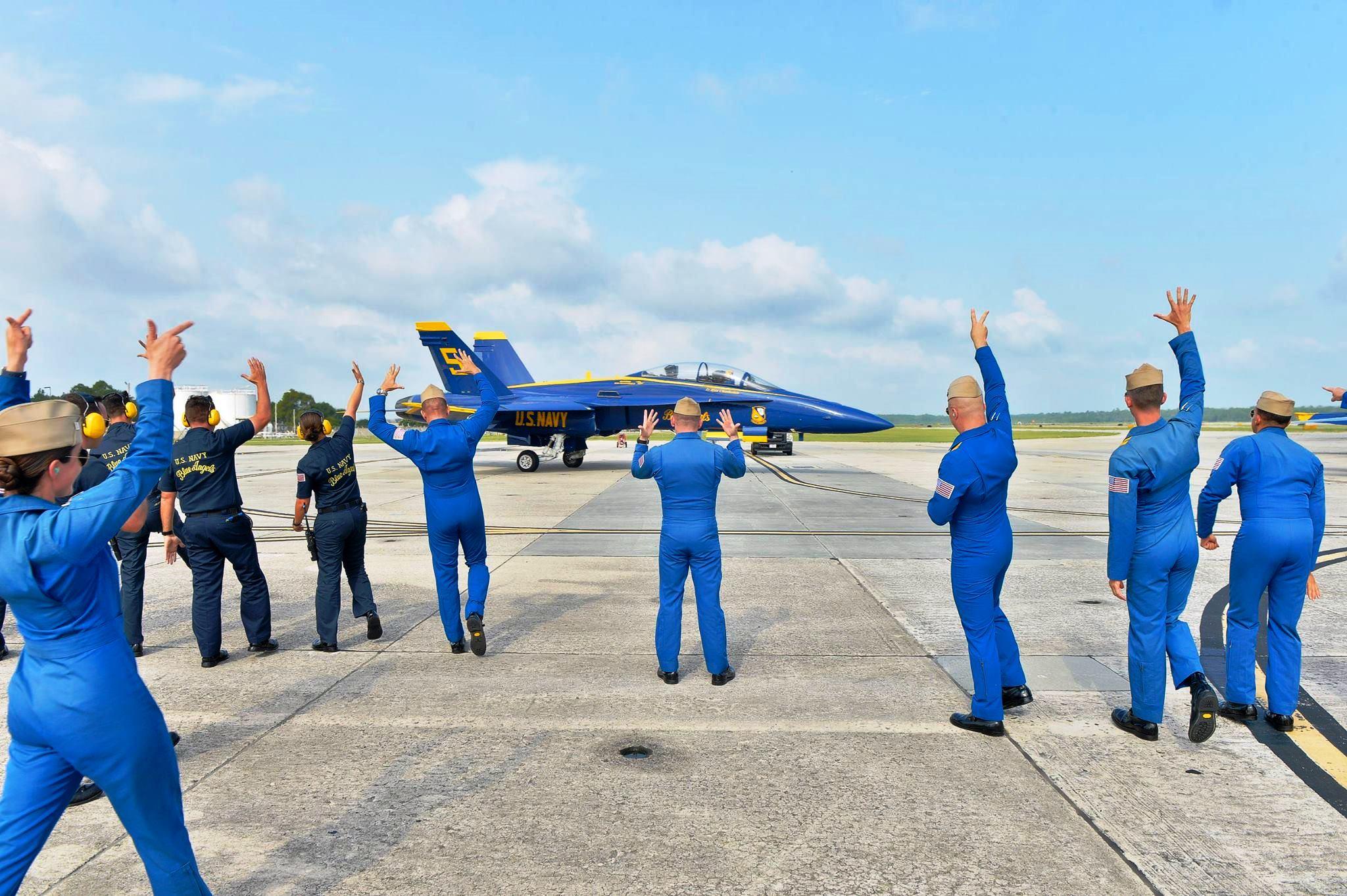 National Naval Aviation Museum Hosts Snowbird Events