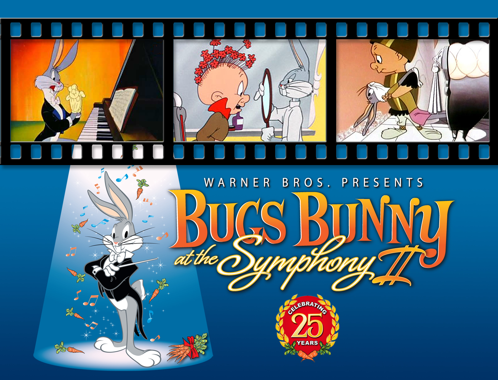 """Warner Bros. presents """"Bugs Bunny At The Symphony II"""" featuring Sinfonia Gulf Coast"""
