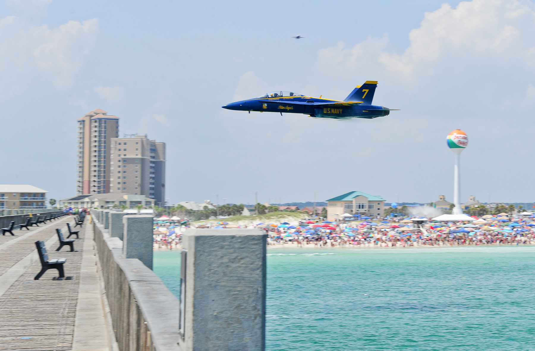Patriotic Spirit and Blue Angels soar at Annual Pensacola Beach Air Show