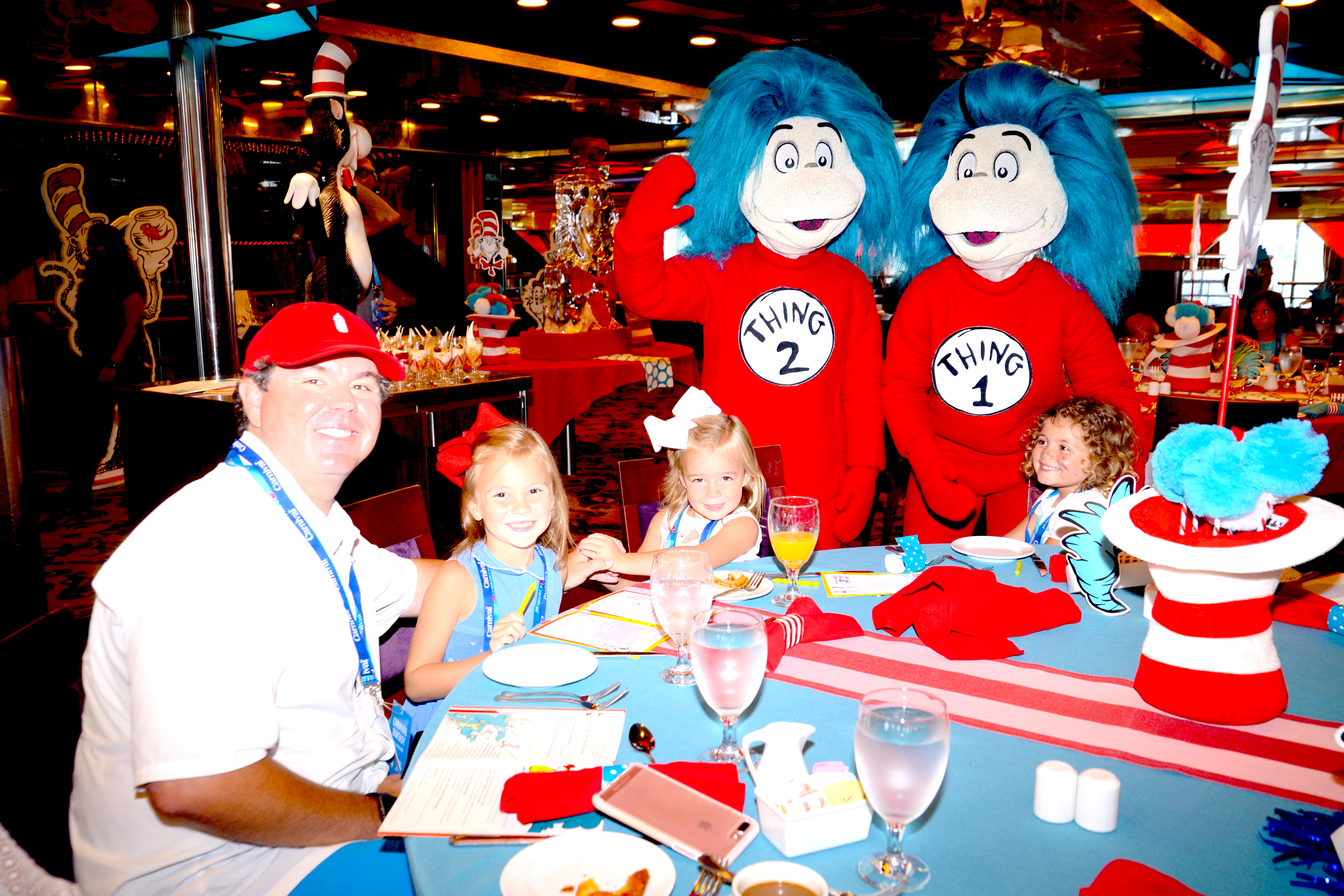 Carnival Cruise Line hosts SEUSS-A-PALOOZA Event Aboard Carnival Fantasy in Mobile, Ala.