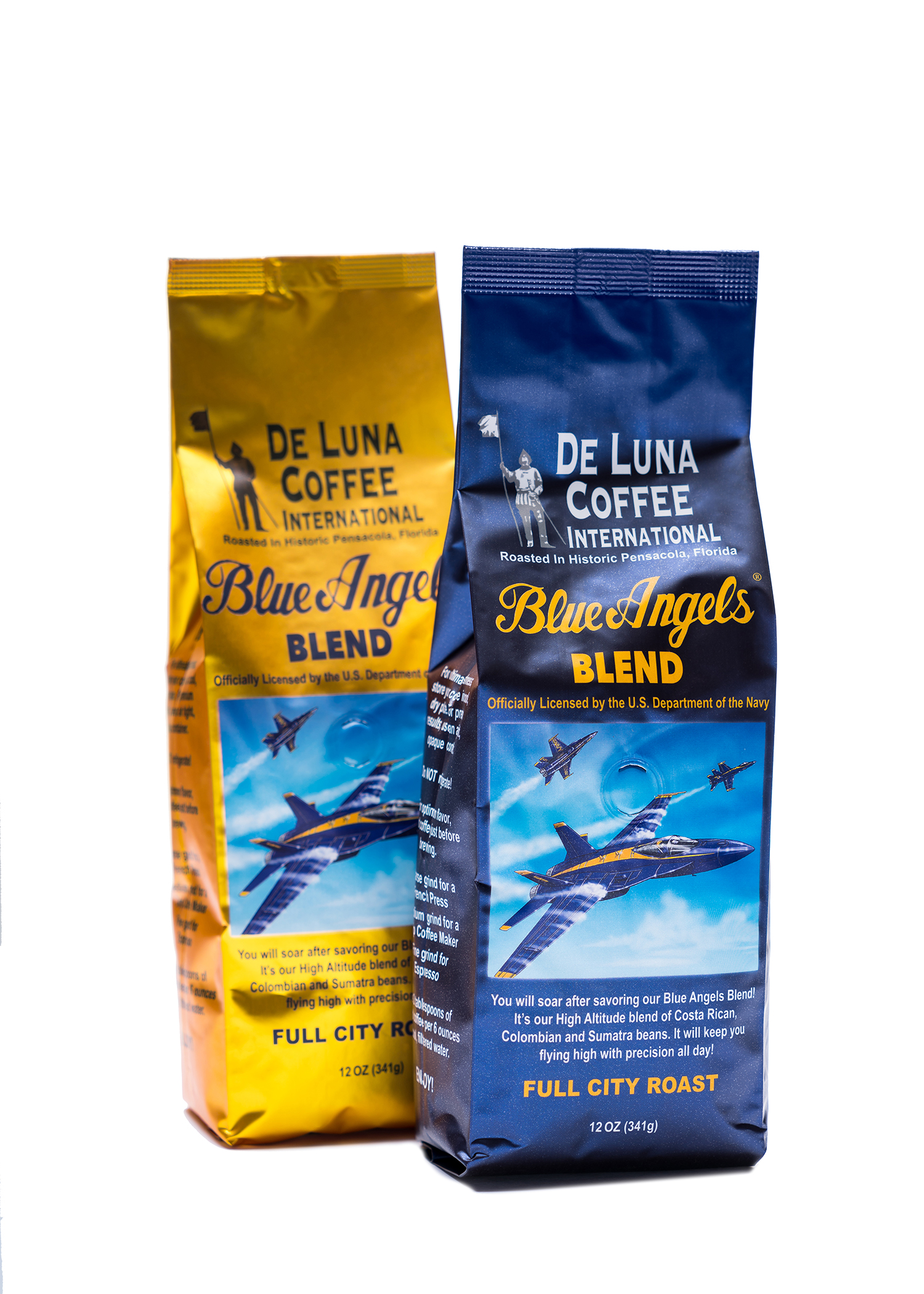 Pensacola Blue Angels coffee goes international