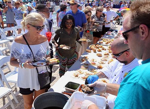 11th Annual Taste of the Beach Festival on Pensacola Beach