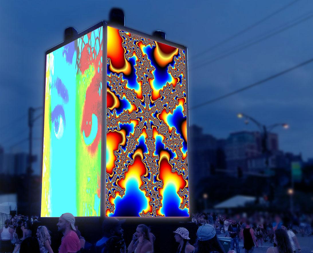 CUBED Luminous Set to Illuminate Downtown Pensacola