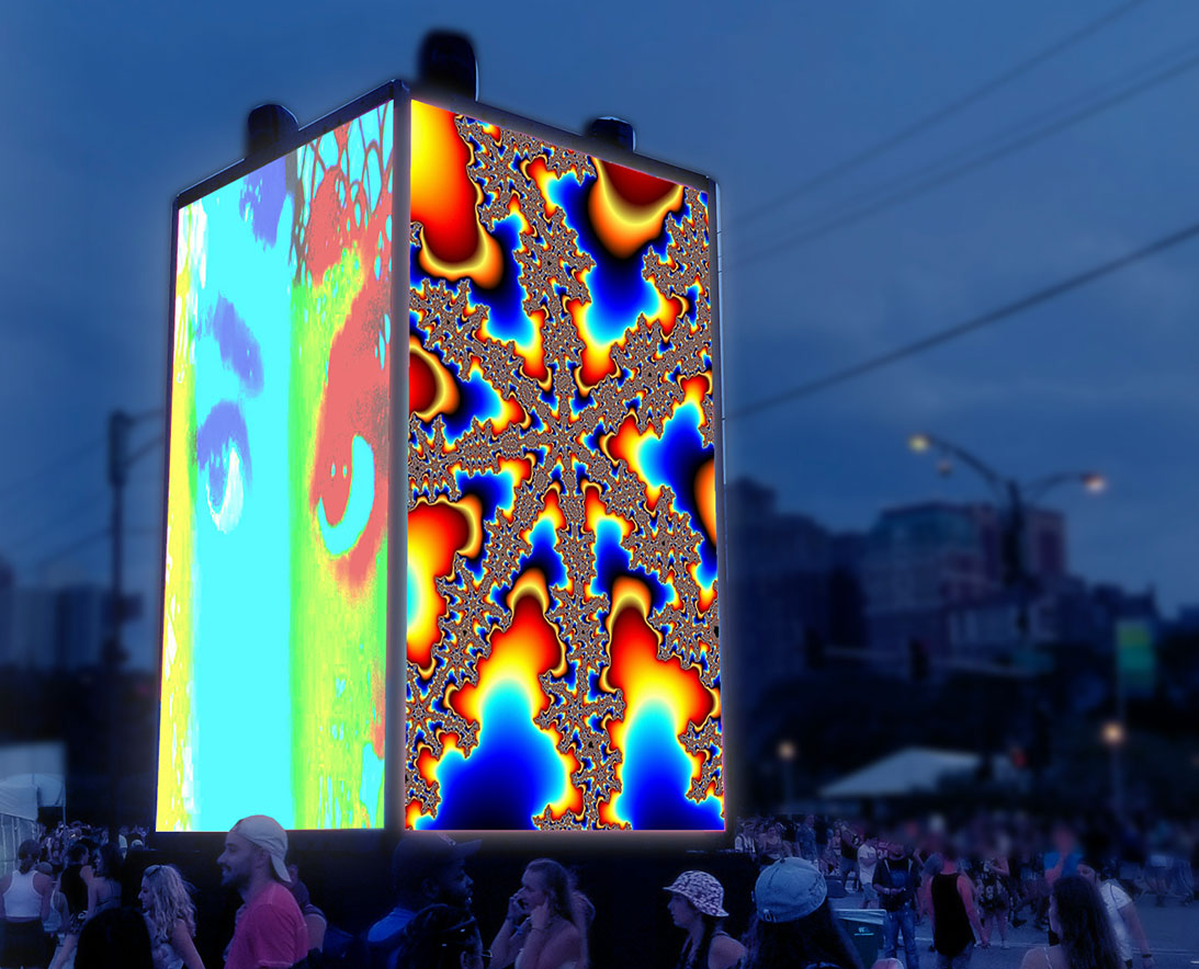 CUBED Luminous Set to Illuminate Downtown Pensacola