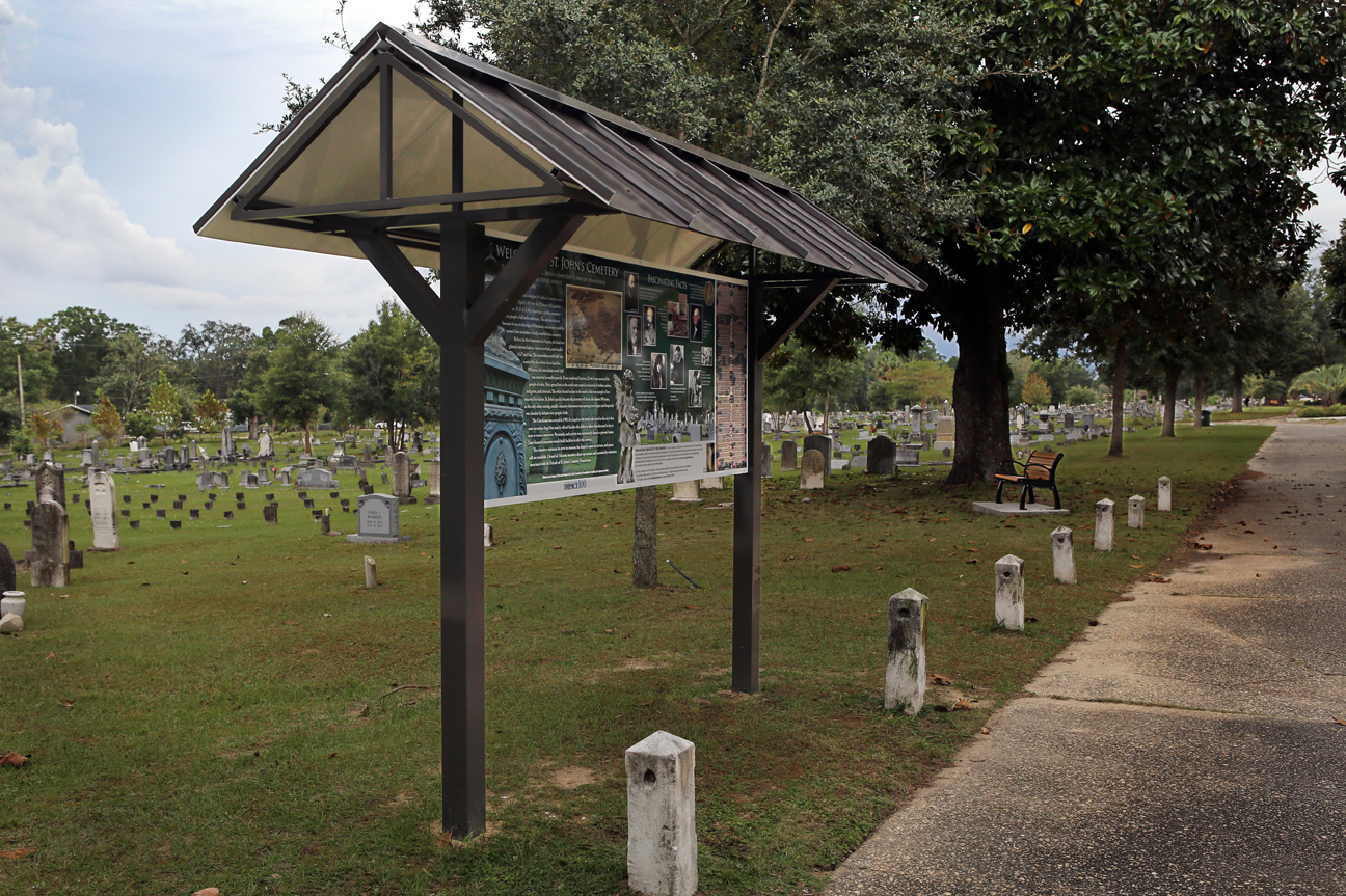 St. John's Cemetery in Pensacola Brings the Past to Life