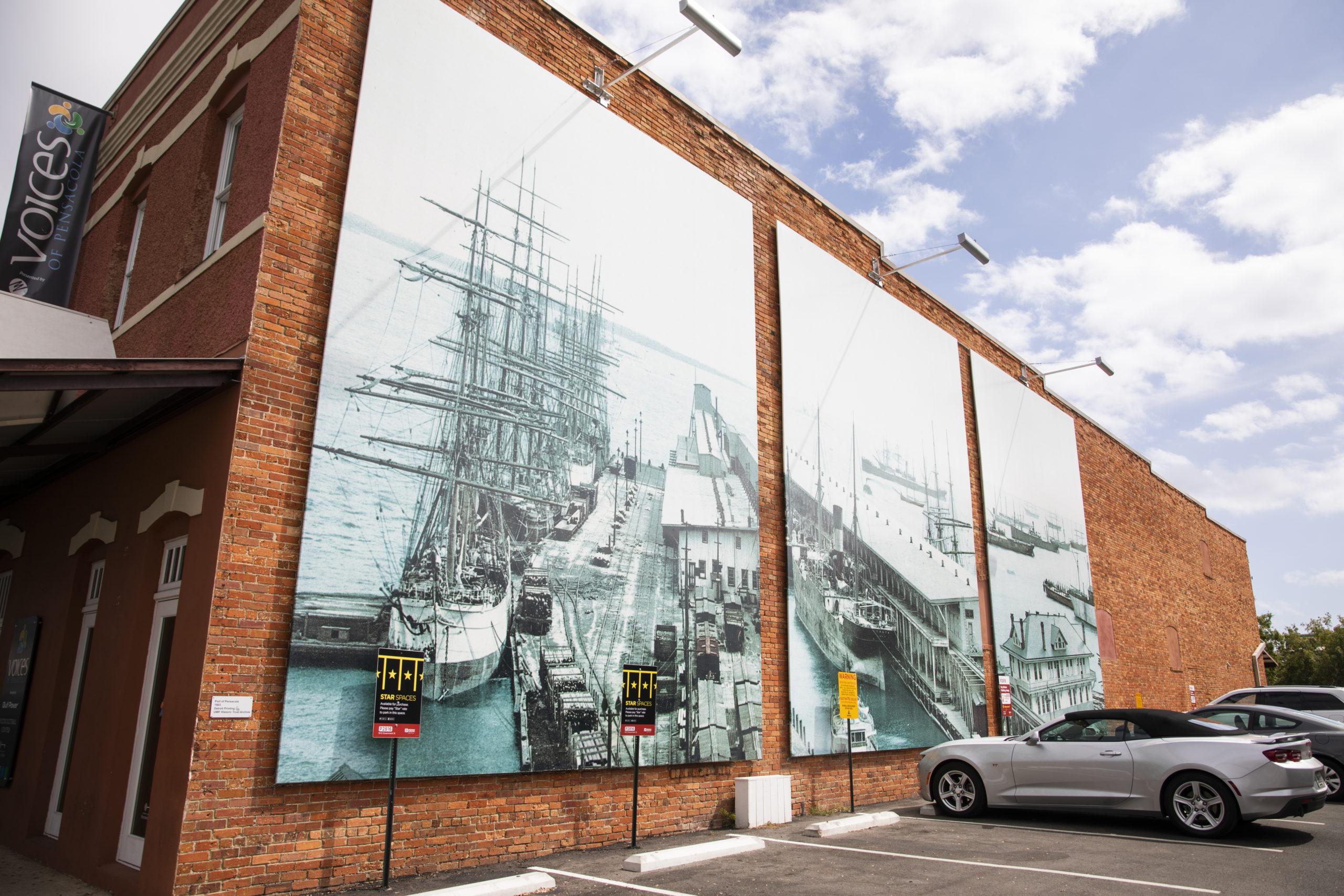 UWF Historic Trust Announces POP:Murals