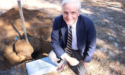 Gregory Garland Honored at Tree Planting Ceremony
