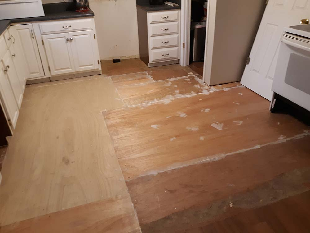 after sub flooring