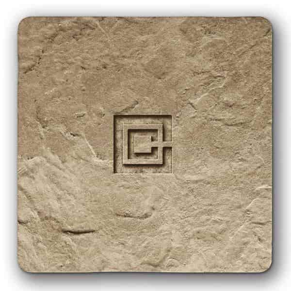 Sample Tile - Bisque Tan - Color