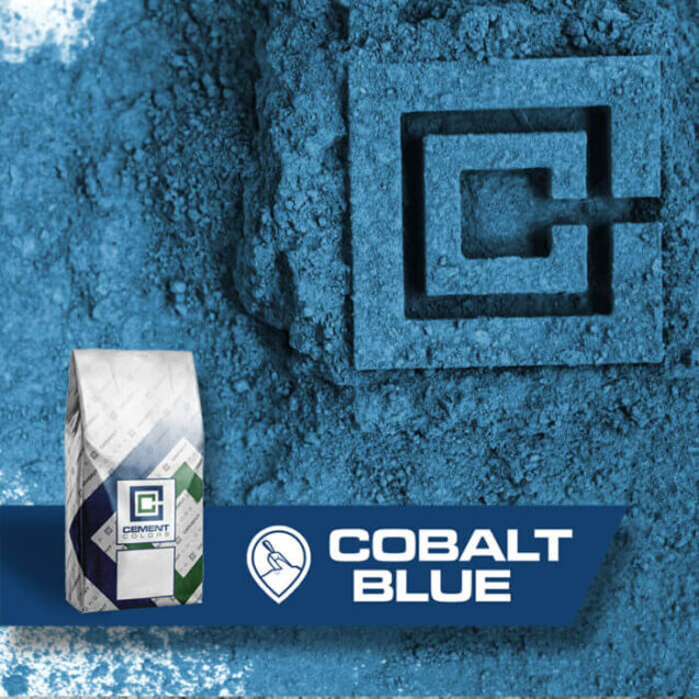 cobalt blue raw pigment for concrete by cement colors